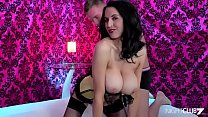 Lingerie clad Louise Jenson loves it from behind Thumbnail