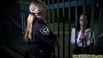 Screenshot Outdoor big  tits cops fucking threesome interra...