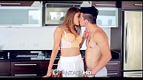 FantasyHD - Teen left home alone with pool boy ...