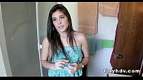 Hot sex session with teen babe Natalie Monroe 6 41