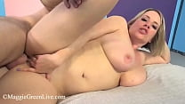 Super Busty Plump Pussy Maggie Green Opens Her Thick Legs For Big Dick