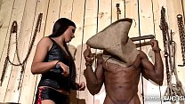 Interracial bangers watch Domina Mira Cuckold humiliate Anita B. with stud's Thumb