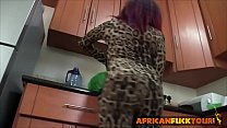 17980 African Booty Drilled Hard In the Kitchen preview