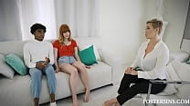 Mom Understands Foster Son And Daughter's Needs And Helps Them Fuck- Ryan Keely, Hannah Grace