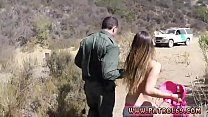 Boarder police xxx Anal for Tight Booty Latina