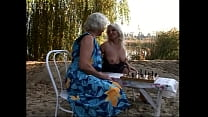 Lez Be Grannys #1 - Pull out the picnic blanket and get ready for hot old lesbians