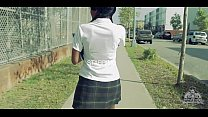 young ebony school girl gets fuck really hard @...