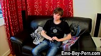 College school gay guys solo He's a slender and petite lad, but his pornhub video