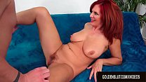 Mesmerizing Older Redhead Andi James Escorts Her Man into Mature Sex Heaven
