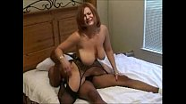fertile white slut in black stockings gets blac...
