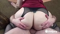 PAWG Naomi St Claire Smothers A Little White Dick's Thumb