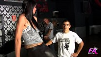 Ana Ribera, the waitress that can't hold herself when drilled up her ass!!