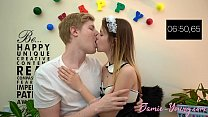 10 Minutes Make Out Challenge!! Jamie Young