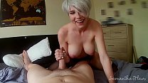 Lesbian takes first real cock POV - Samantha Flair