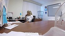 SpyFam Step son office anal fuck with step mom Cory Chase at work thumbnail