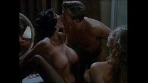 Italian vintage porn: it starts with two hot lesbians and it turns in threesome thumbnail