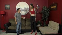 6 Foot 3 Rocky Emerson Dominates Her Short Room...