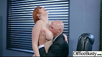 Hardcore Bang With Office Naughty Busty Girl (Lauren Phillips) video-11 porn thumbnail