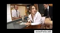 Asian in a Maid Cosplay Takes a Load in Her Mouth, Pussy and Ass - Part 4 pornhub video