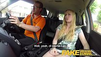 Fake Driving School Ex learner Satine Sparks ar...