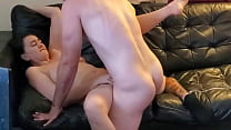 My cheating slutwife fucks boyfriend and begs for cum on her face