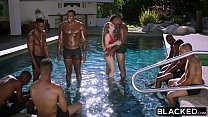 BLACKED Lena Paul first interracial gangbang - 9Club.Top