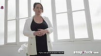 Lawyer CAUGHT! We fuck, otherwise your clients will know: Sandy Lou (Porn from France) - SNAP-FUCK.com
