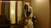 indian aunty lily in hotel with her boyfriend h... thumb