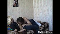 Amateur Russian Lovers Having Sex At Home