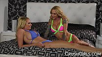 Briana Banks and Sarah Jessie sensual pussy licking porn image