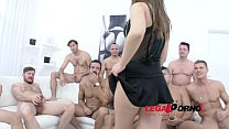 Screenshot 10 Man Gangbang  For Anina Silk Sz1137  Sz1137