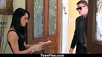 TeenPies - Brunette Teen Sabrina Banks Gets Fuc...
