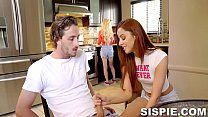 Kenzie Reeves, Vanna Bardot In Sharing My Step Sisters Friend