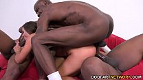 Euro Babe Amirah Adara Gets Gang Banged By Blac... thumb