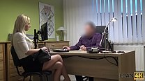 LOAN4K. All debts of silly hottie can be paid with sex with agent