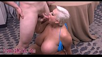 Huge Tits And Ass Oiled Then Anal Image