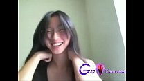 Hot Japanese girl enjoying at home - gspotcam.com