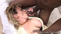 British MILF gets fucked by BBC while Cuck watches Vorschaubild