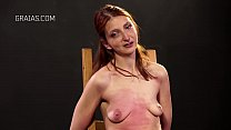 Cruel Boob Punishment For Redhead