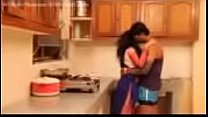 indian beautiful Housewife Romance In Kitchen
