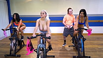 Curvy Latin Babe Rose Monroe Getting Her Big Ass Fucked In Spin Class's Thumb