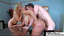 Hot Slut Office Girl (Alison Tyler & Julia Ann) With Big Boobs Bang Hardcore movie-03