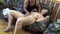 Screenshot busty german  Milf enjoys a big dick in her ass