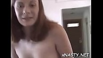 Voluptuous perfection Sally cumming on huge prick
