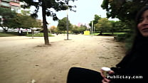 19328 Romanian hottie gets anal in public preview