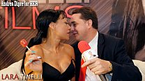 Lara Tinelli teaches how to give a great blowjo... thumb