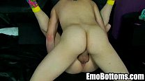 Emo twink Drake Blaize getting fucked in the ass
