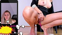 Office MILF bitch squirt a lot on the floor   kate.hot4cams.com