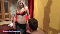 Busty hottie does HOT lapdance show Preview