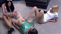 Alexis Grace and Vanessa Cage - pantyhose nurses deadly foot smother milking